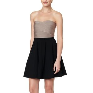 ERIN BY ERIN FETHERSTON Bandage Strapless Dress